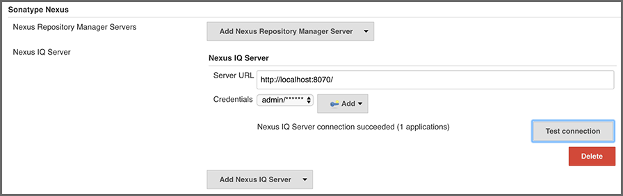 Nexus Platform Plugin for Jenkins