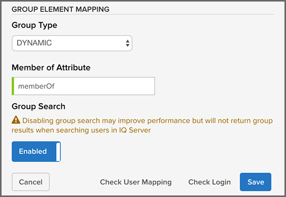 Dynamic Group LDAP Mapping
