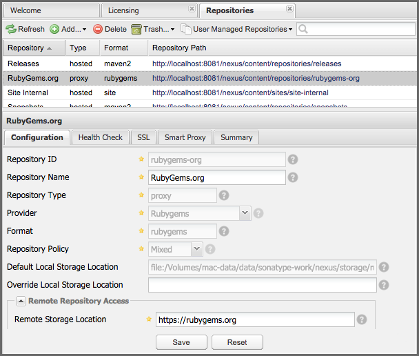 Ruby, RubyGems and Gem Repositories