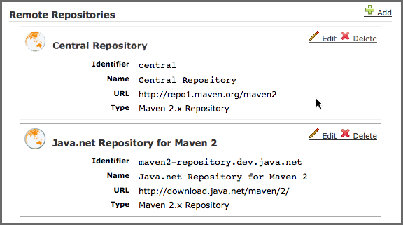 Migrating from Archiva
